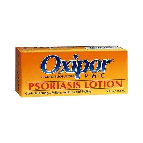 Oxipor VHC Psoriasis Lotion, Coal Tar Solution, 4-Ounce Bottle 1