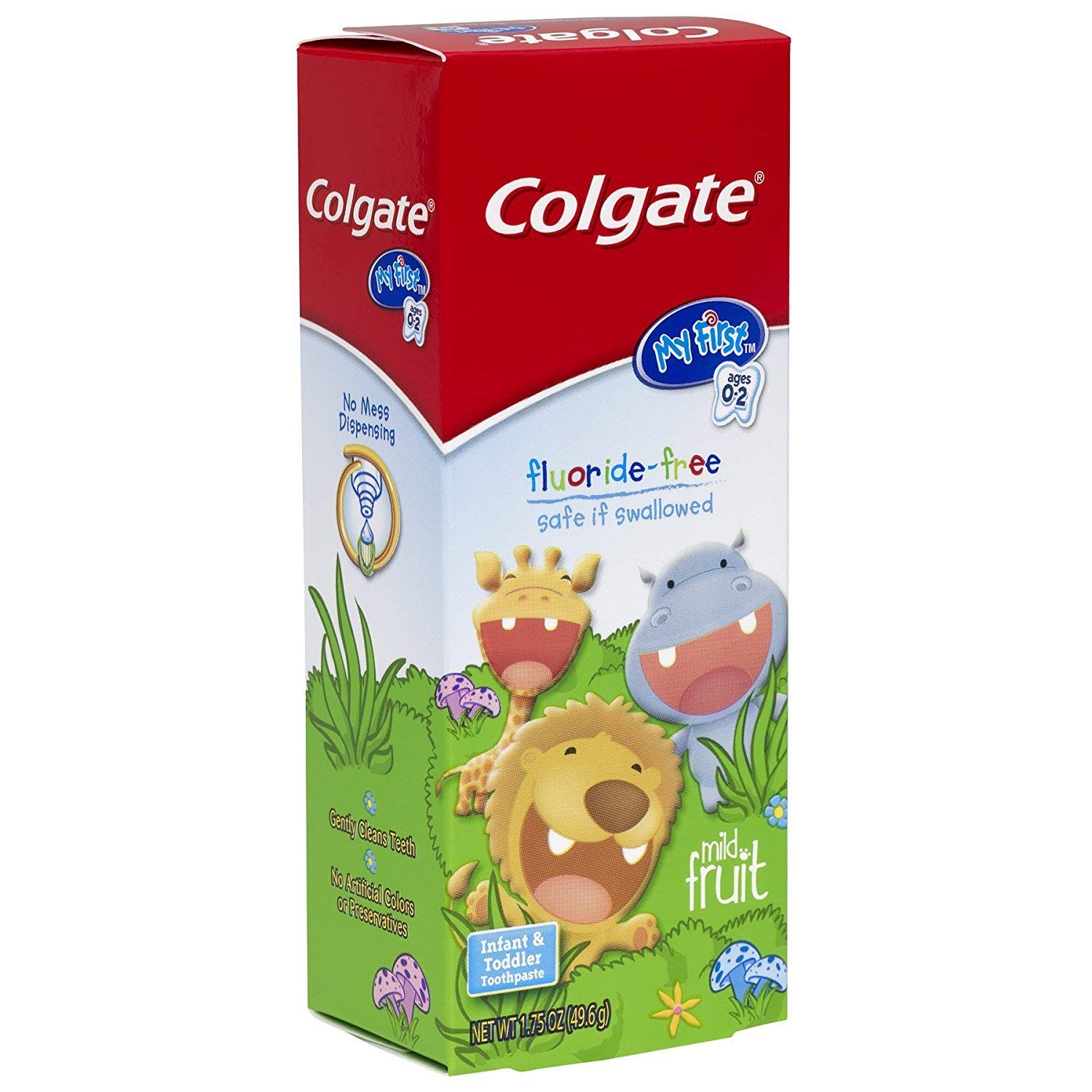 2 Pack Colgate My First Baby And Toddler Toothpaste