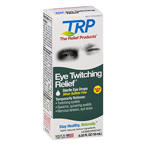 2 Pack The Relief Products Eye Twitching Relief Drops 0.33