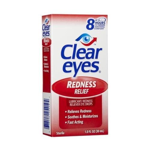 Clear Eyes Redness Relief Eye Drops 1oz Each