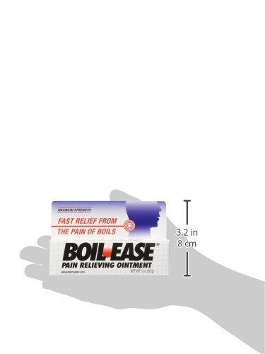 Details about Boil Ease Ointment Maximum Strength Pain Relieving Ointment  1oz Each