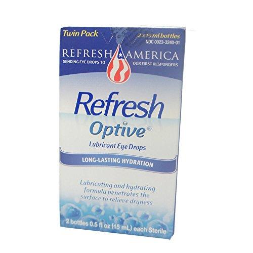 5 Pack Refresh Optive Eye Drops Lubricant 2 0.5 Fl Oz 15